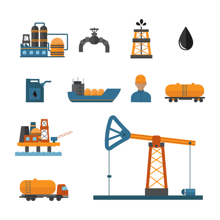 Mineral oil petroleum extraction production