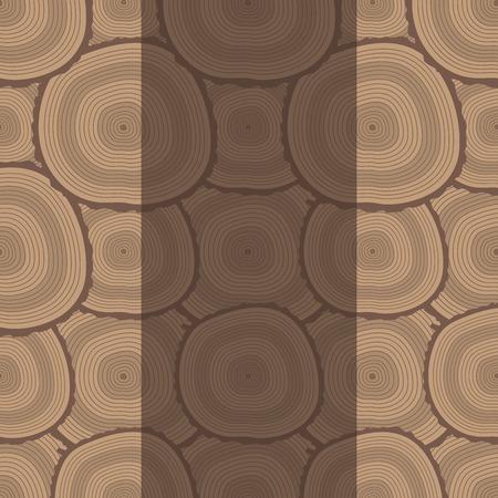 建設ビル用積み重ねられた木材松材カット切り株木材樹皮パターン背景ベクトルイラスト。