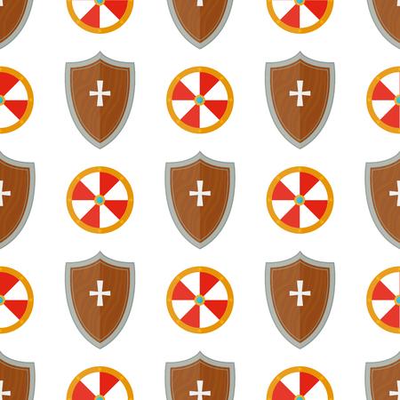 chevalier chevalier médiévale armes de poing seamless elephant fond de l & # 39 ; éléphant royale . illustration vectorielle de fond