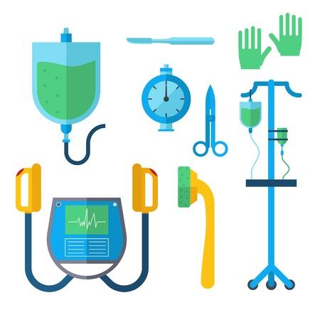 Ambulance medicine health emergency car icon.