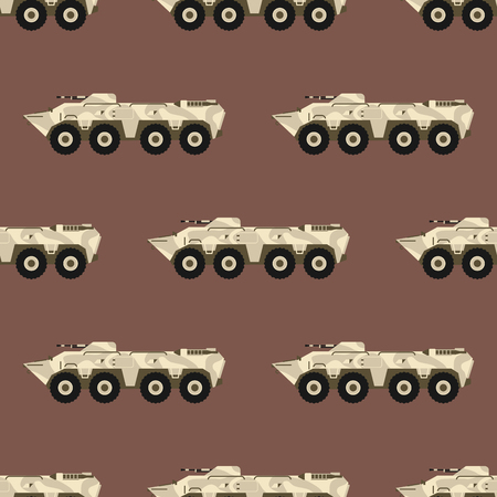 Military transport vector illustration.