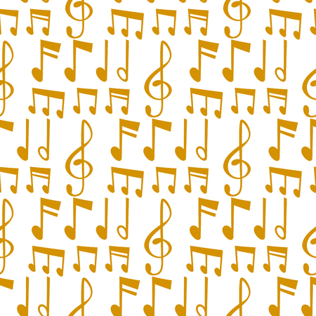 Notes music vector melody colorfull musician symbols sound notes melody text writting audio musician symphony illustration seamless pattern background. 일러스트
