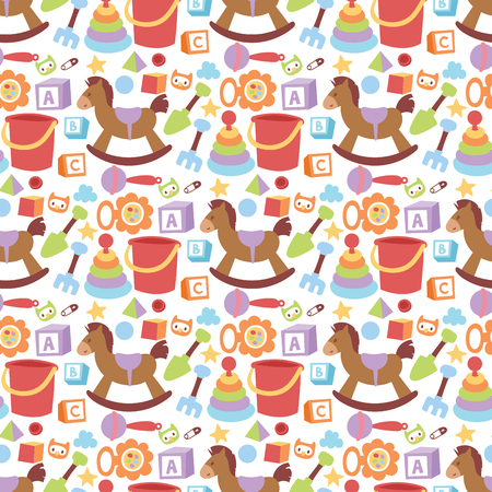 Baby toys pattern design