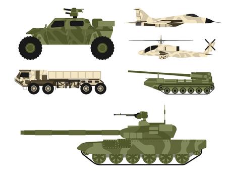 군 육군 전송 벡터 세트 스톡 콘텐츠 - 95891693