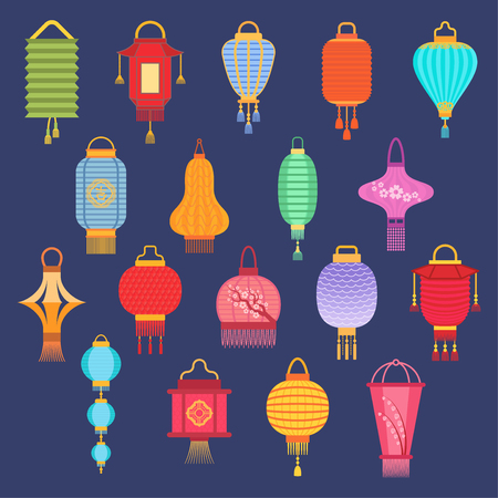 Chinese lantern ligher vector paper lighter traditional holiday celebrate Asia festive or wedding traditional lantern graphic chinese light gift fly lamp celebration lamp illustration