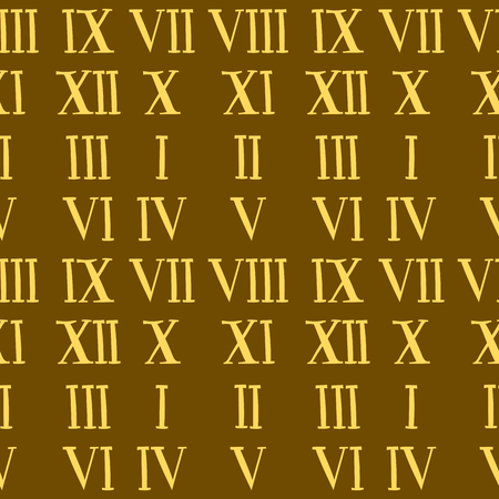 Vector roman number alphabet symbol sign