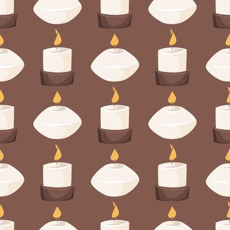 Candle vector illustration. Ilustração