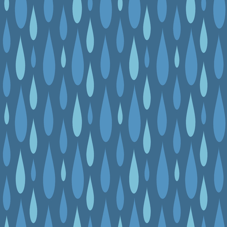 Rain drops seamless pattern background