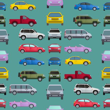 Car auto vehicle transport type design. Illustration
