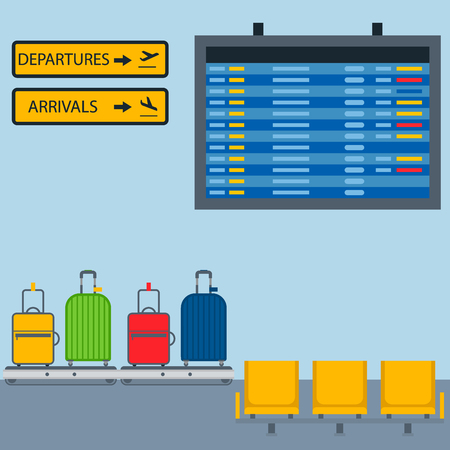 Aviation room icons vector airline graphic airplane airport transportation fly travel symbol illustration Illustration