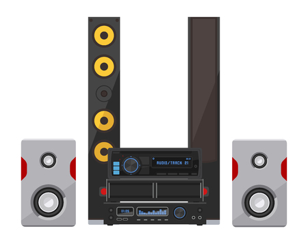 Sound system icon design
