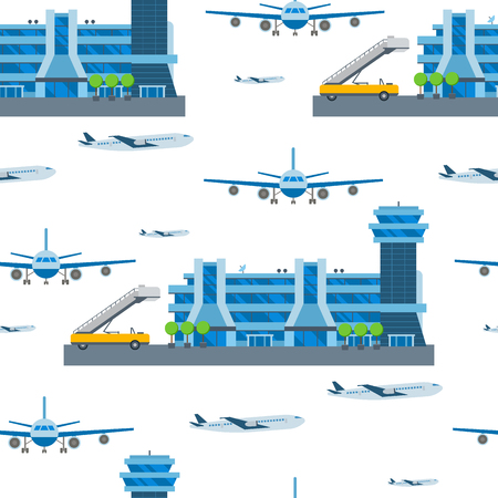 Airport concept pattern design