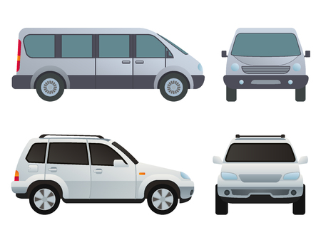 Car auto vehicle transport type design travel, race model technology style and generic automobile contemporary kid toy illustration.