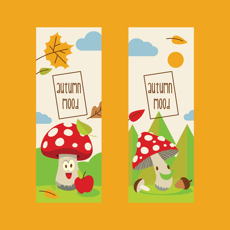 Vector amanita mushrooms pattern background set vector poisonous season toxic fungus food cartoon muscaria, toadstool background. Dangerous plant spotted fungi forest illustration. Stock fotó