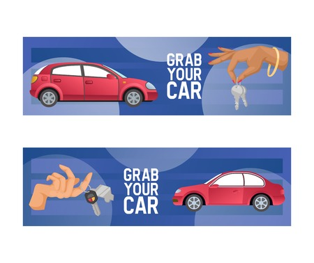 Mano de vector de coche con llave de automóvil de ilustración de telón de fondo de diseño de transporte de vehículo de carácter de personas comprando fondo de pantalla de compra de transporte automático.