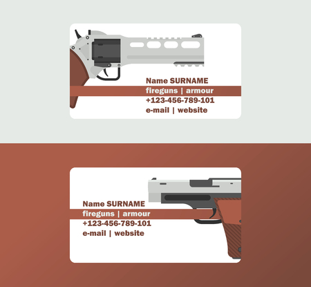 Pistols vector business card western gun cowboys retro revolver backdrop illustration wildlife cartoon wildwest sheriffs handgun background business-card.