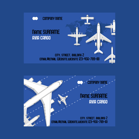 Plane vector traveling on aircraft airplane jet flight transportation flying to airport illustration aviation backdrop of aeroplane airliner credit card design background