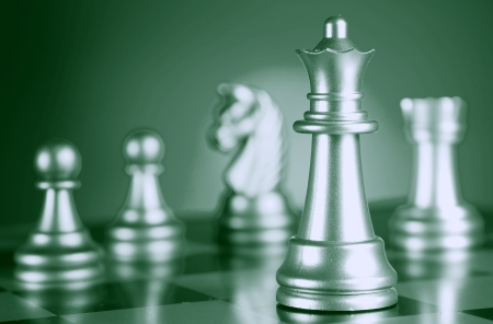 defeat: Chess combination  A full series in portfolio by word chess