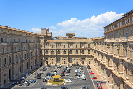 Vatican area and residence of the Pope