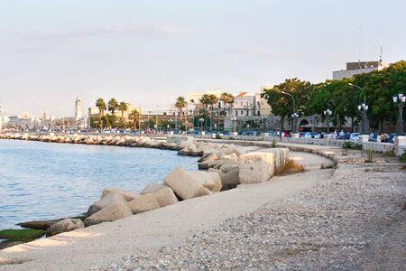 Embankment of Bari Italy horisontal