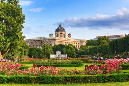 Park à Vienne Autriche Banque d'images - 26559334