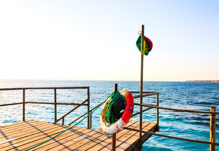 Panton on the Red Sea in Egypt Stock Photo