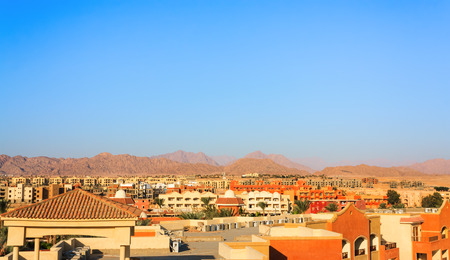 Nabq view in Sharm El Sheikh Egypt Stock Photo