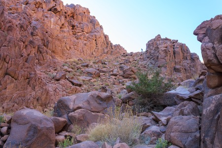 monte sinai: El ascenso del Monte de Mois�s, Sina� Egipto