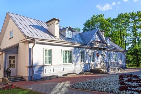 Old house of writer in Grodno Belarus Редакционное