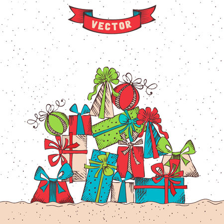 Festive . There is place for your text. Vector