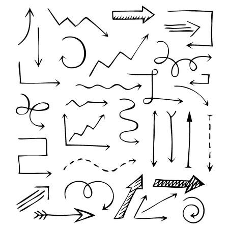 dotted lines: Editable business design elements. Vector illustration. Illustration