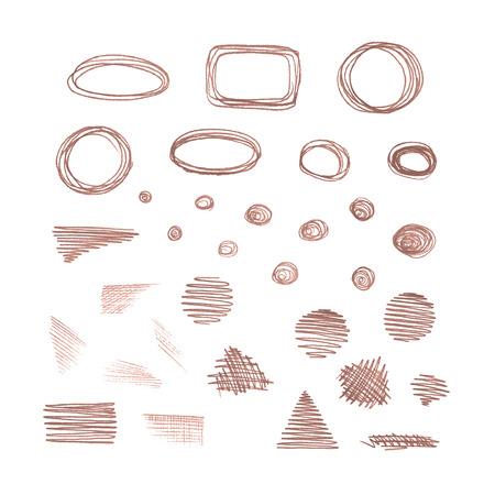Geometric shapes.