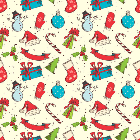 chrstmas: Hand-drawn elements in sketch style for your Chrstmas design.