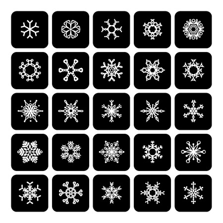 Design elements for your Christmas design. Vector