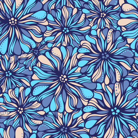 various: Various flowers and leaves on light background.
