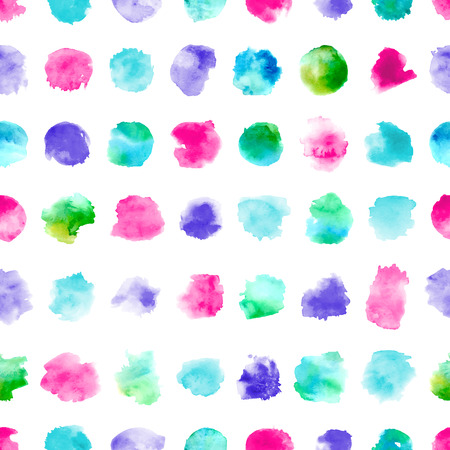 Various hand-drawn colourful elements on white background.