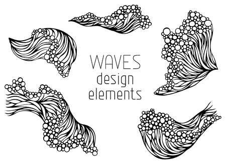 Hand-drawn elements for your design.