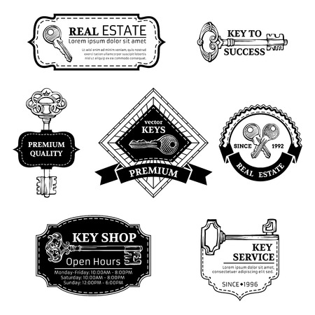 Retro badges, labels, ribbons, frames and emblems. There is place for your text.