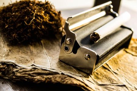 Smoking set Stock Photo