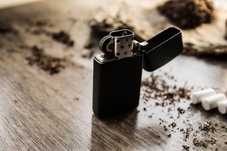 Smoking set 스톡 콘텐츠