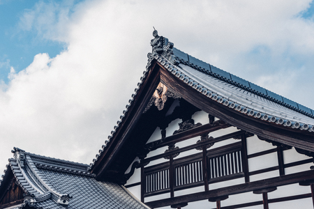 Japanese style architecture exterior view