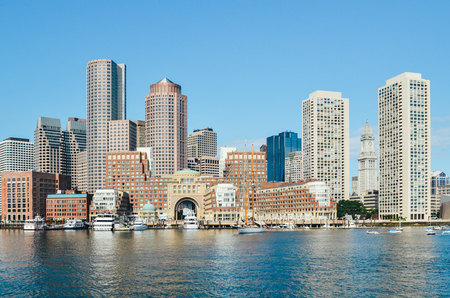 Boston scenery Stock Photo