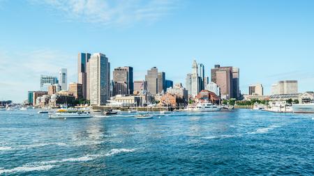 Boston scenery Editorial