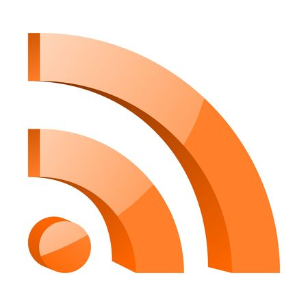 rss icon isolated photo