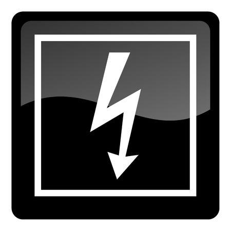 electricity icon Stock Photo - 4577765