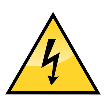high voltage sign Stock Photo - 4577755