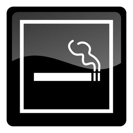smoking button Stock Photo - 4577766