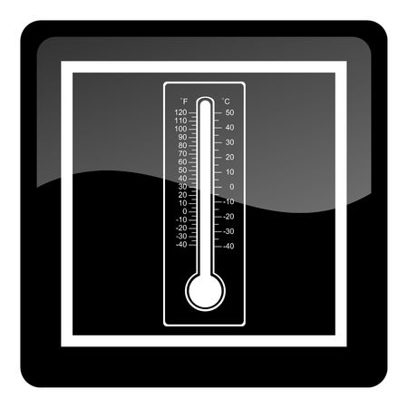 thermometer button photo