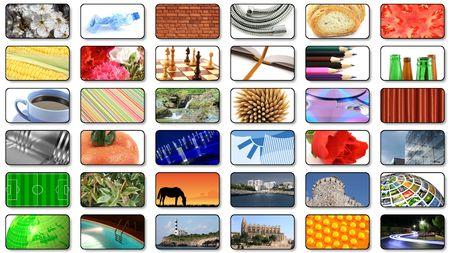 vod: multimedia center presentation Stock Photo