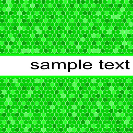 green cells vector background photo